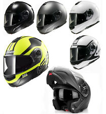 LS2 FF325 STROBE CIVIK  FULL FACE FLIP UP FRONT MOTORCYCLE MOTORBIKE HELMET