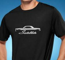 1965-67 Plymouth Satellite Classic Muscle Car Tshirt NEW FREE SHIPPING