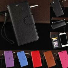 Flip Leather Wallet Photo Card Holder Stand Case Cover For iPhone 5S 7 6S 7 Plus