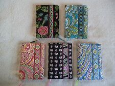 NWT Lot of 5 Vera Bradley Paperback Book Cover Botanica Capri Blue Pink Elephant
