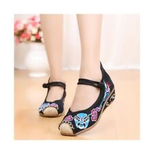 Old Beijing Cloth Shoes Casual Embroidered Shoes Slipsole Increased within Low C