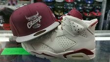 "Matching New Era Chicago Bulls 5950 fitted hat for Air Jordan 6 ""Maroon"""