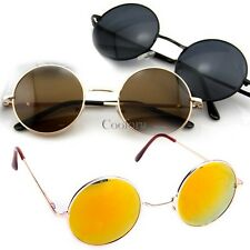 Vintage Retro Men Women Unisex Round Frame Sunglasses Eyewear Glasses New