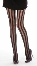 Pamela Mann Sheer Black Stripe Tights