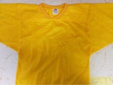 NEW WITHOUT TAGS!!! Sports Belle Youth Football Practice Jersey Gold