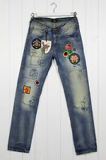 NEW VIVIENNE WESTWOOD ANGLOMANIA X LEE  JEANS PATCHED BOYFRIENDS SLIM ALL SIZES