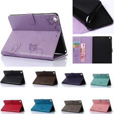 Flip Magnetic Wallet Cartoon PU leather stand Silicone phone cover case for Ipad