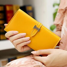 Leather Wallet Women Coin Purse Card Holder Lady Clutch Bag Female Long Wallet