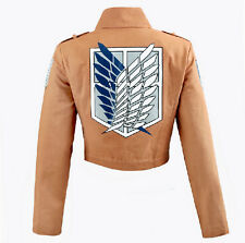 Cos cosplay Shingeki no Kyojin Attack on Titan  Recon Corps jacket coat costume