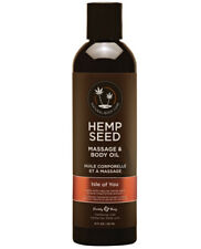 Earthly Body All Natural Hemp Seed Body & Massage Oil 8oz