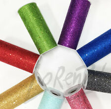 "6""x10 yard Glitter Fiber Net Soft Tulle Fabric Wedding Free Expedited Shipping"