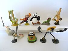Complete Collectible Figures Set KUNG FU PANDA 1 2 3  Miniatures KINDER SURPRISE