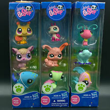 littlest pet shop lps Kangaroo Whale Butterfly Frog Angelfish Ladybug Sea Turtle