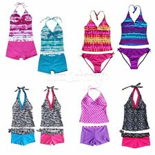 Kids Swimsuit Two Piece Suit Swimming Costume Childrens Swimwear Age 2-16 Years