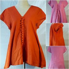 Vintage Boho Tunic Tank Top Casual Summer Beach Maternity Blouse Shirt