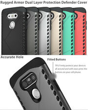 For LG G5 Shockproof Hybrid Armor Dual Layer Hard Protective Case Cover US Ship