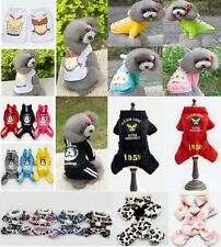 2016 New Fashion Various Pet Clothing Puppy Small Dog Cat Vest T-Shirt Apparel