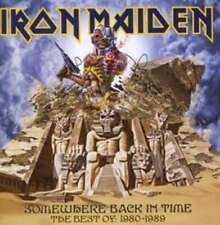 IRON MAIDEN SOMEWHERE BACK IN TIME THE BEST OF 1980-1989 CD NEW