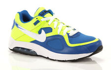 New Nike Men's Air Max Go Strong Essential Shoes Size 10 Volt/Military Blue