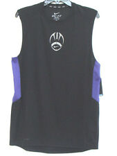NWT Nike Men's Dri-Fit Zoned Cooling  Sleeveless Football Tee T-Shirt  Size S
