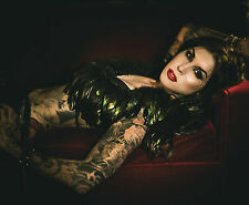 Kat Von D Gothic Angel Huge Print Poster Wall Art |Sizes A4 to A0 UK Seller E146