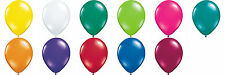 "Qualatex 11"" Jewel Colours Latex Round Balloons 100 Pack"