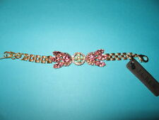 J.Crew New With Tag Lulu Frost For J.Crew Crystal Petal Bracelet Caribbean