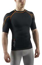 SUB RX Mens Compression Top S/S Baselayer - Sports Skin tight Gym wear t shirt
