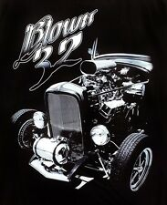 Mens T-shirt Blown 32  ford coupe hotrod