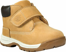 Timberland Unisex Children's  Earthkeepers Timber Tykes Hook-and-Loop Boot Wheat
