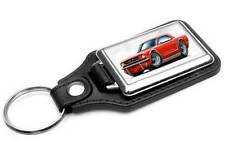 1964 Ford Mustang Classic Car-toon Key Chain Ring Fob NEW