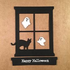 8 Window Die Cuts~Punchies~Halloween~Stampin' Up Hearth & Home~You Choose Color