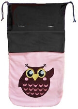 Cuddles Collection Fleece Footmuff - Pink Owl RRP £49.95
