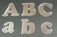 ACRYLIC MIRROR LETTERS 15cm SHATTERPROOF UPPER AND LOWER CASE CHOOSE ANY LETTERS