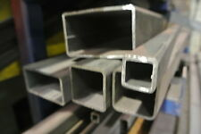 mild steel Box section cut to required size 50mm x 25mm x 2.5mm