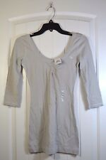 NWT WOMEN'S ABERCROMBIE & FITCH 3/4 SLEEVE CREW NECK SHIRT TOP BLOUSE SIZE S