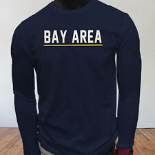 State Tourist Tour Travel Bay Area Vacation Proud Mens Navy Long Sleeve T-Shirt