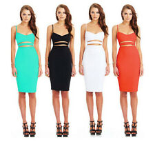 Cocktail Bandage Short Women's Summer Sexy Bodycon Evening Party Mini Dress Slim