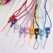 Neck Strap Ring Lanyard Detachable For iPhone Samsung Cell Phone ID Card PSP MP3