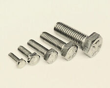 M5 x 45mm A2 Stainless Steel Hex Head Set Screw Bolts ( Pack Qty 10 )