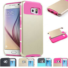 Hybrid Shockproof Heavy Duty Hard Case Cover For New Samsung Galaxy S7 / S6 Edge