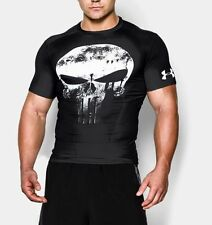 Under Armour Mens UA Alter Ego Punisher Compression Shirt - M, L, XL, XXL, XXXL