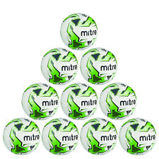 DISCOUNT DEAL 10 x Mitre Monde V12S Match Football & Ball Sack