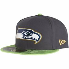 New Era 59Fifty Cap - NFL GOLD COLLECTION Seattle Seahawks