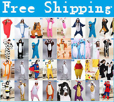 new Onesie Unisex Pajamas Adult Kigurumi Cosplay Costume Animal sleepwear S-XL