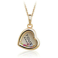 18K Rose Gold Plated Multi Colours Swarvoski Crystals Necklace N243