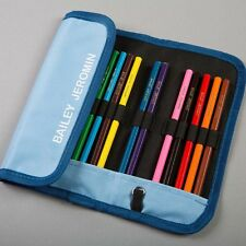 Easy2name Personalised Pencil Case with 14 Pencils - Name on Pencils & Case!
