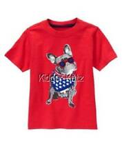 Gymboree Boys NWT Star Spangled Summer Dog Tee Top Shirt Size 6 12 18 Mos 2T 3T