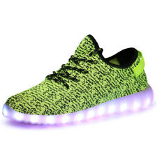 Unisex LED Light Lace Up Luminous Shoes Sportswear Sneaker Casual Shoes USB