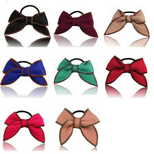 Ponytail Hair Rope Satin Ribbon Hairband Hair Accessories Bow Scrunchie Holder